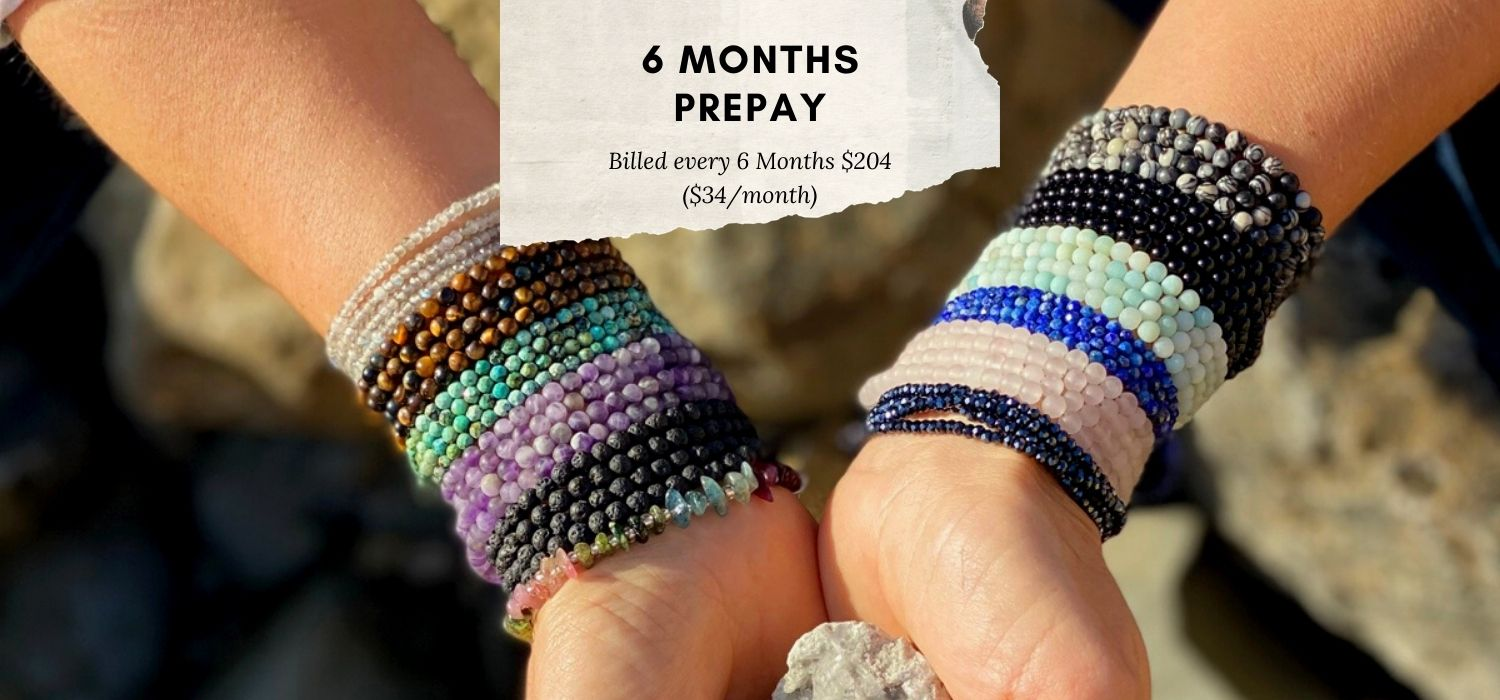 Connect with Mother Earth 6 months pre-pay