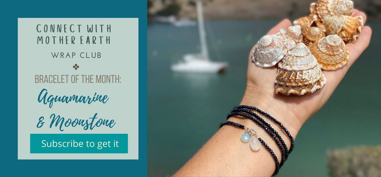 Mother Earth Wrap Club Bracelet of the Month