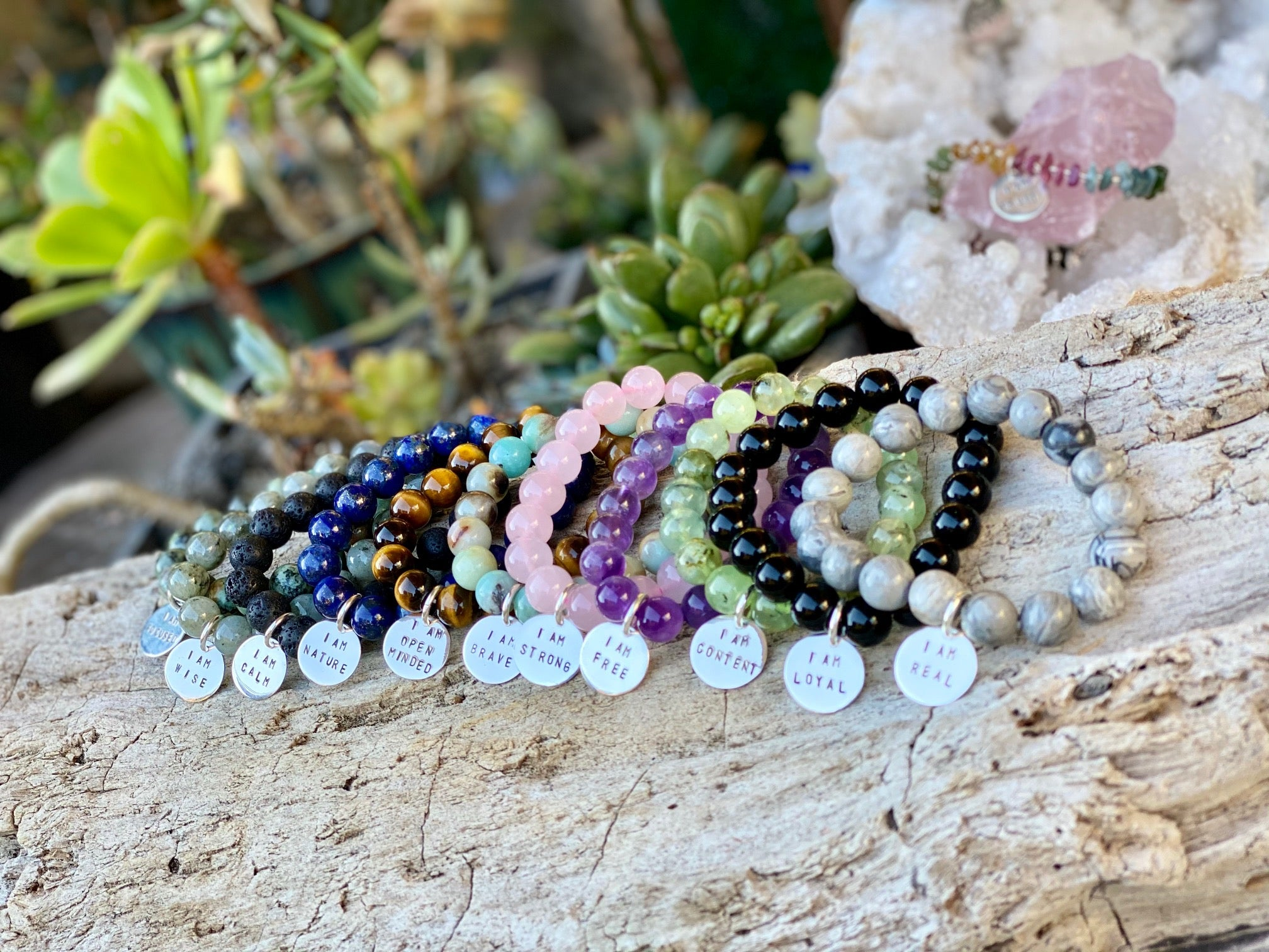 Energy Healing Crystal Jewelry to support change that comes from within
