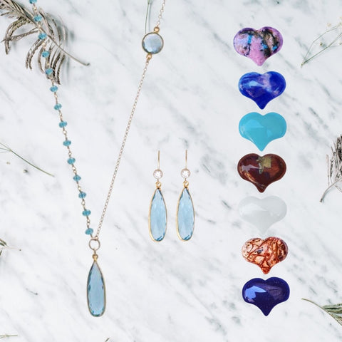 Gift for Crystal Lovers: Aquamarine for Hope
