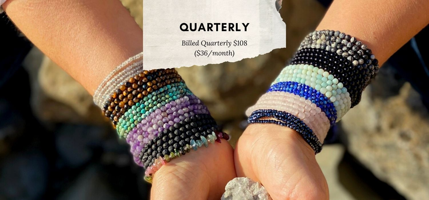 Connect with Mother Earth Wrap Club - Quarterly Billing