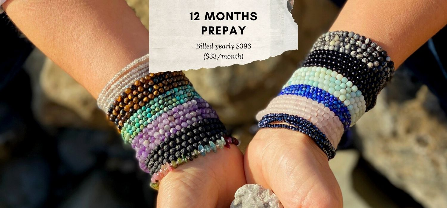 Connect with Mother Earth Wrap Club 1 year pre-pay