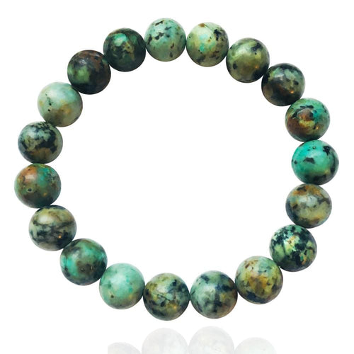 Unisex Enjoy the Journey - African Turquoise Bracelet