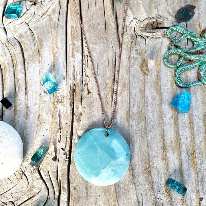 Amazonite Necklace for Courage and to Create a Feeling of Power Within You