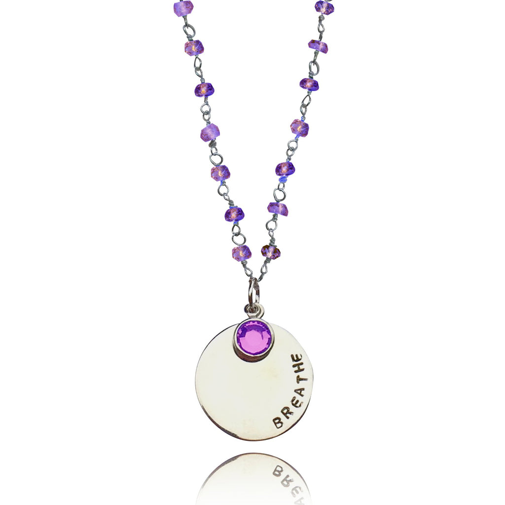 amethyst jewelry collections products luxa img druzy necklaces jewellery white necklace