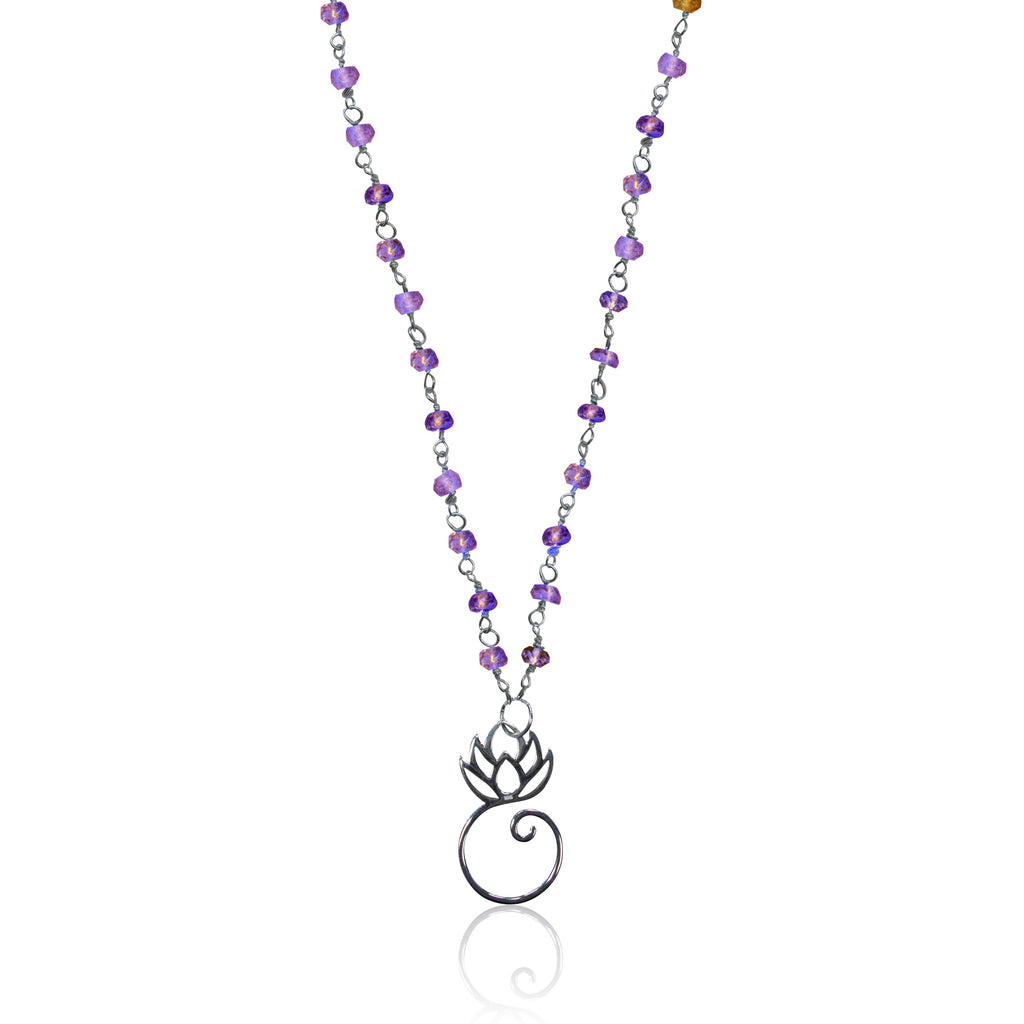 amethyst origins necklaces jewellery bahamas shop necklace semiprecious rough