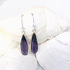 Amethyst Earrings to Help Cope with Stress