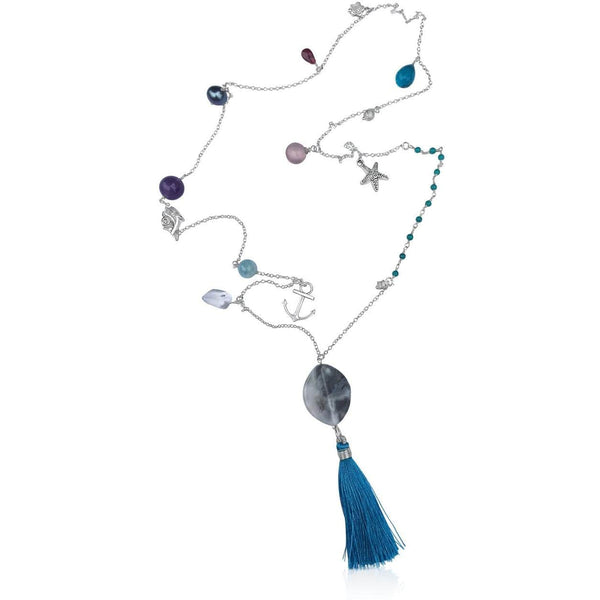 The Mermaid's Dream Necklace with Underwater Treasures