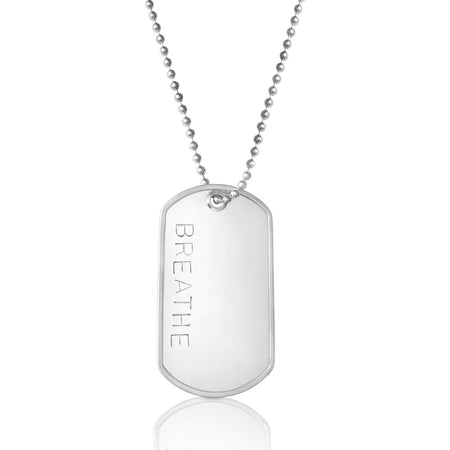 The Original Breath In - Breath Out Necklace