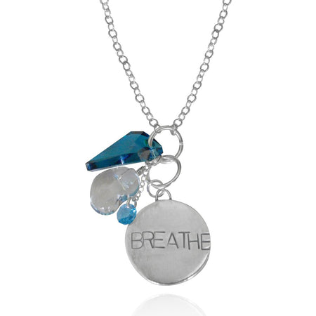 BREATHE Infinity Circle Necklace (GF)