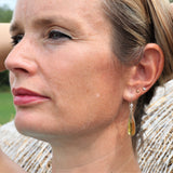 Citrine Earrings for Success