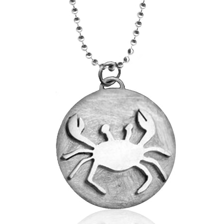 Scuba Diver Dog Tag Necklace