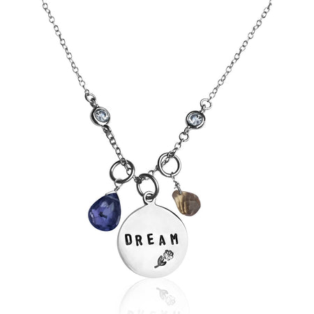Right Here - Right Now  - Inspirational Necklace
