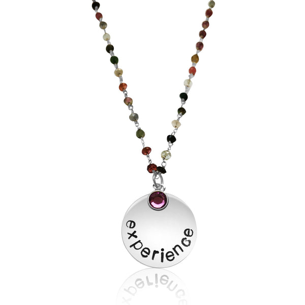 EXPERIENCE Tourmaline Necklace inspired by my travels