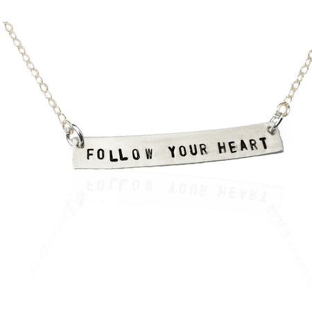 Attract Love - Silver Heart Necklace