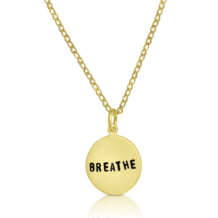 BREATHE Infinity Circle Necklace
