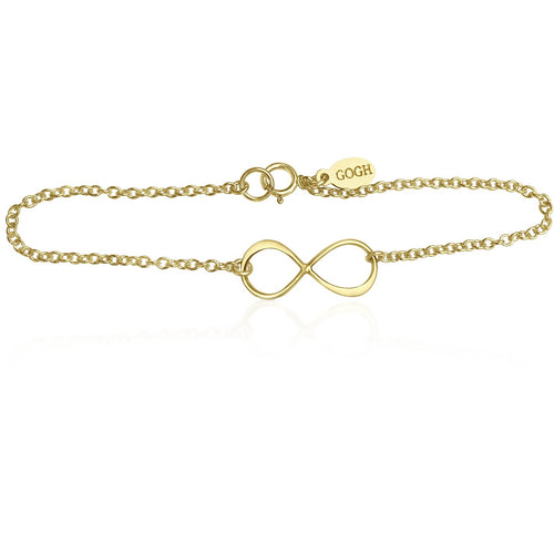 Infinity Gold Filled Bracelet for Everlasting Love