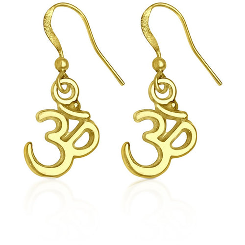 OHM Yoga Earrings (GF)
