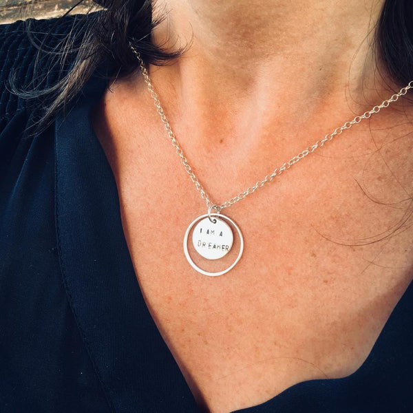 I am Enough - Sterling Silver Necklace