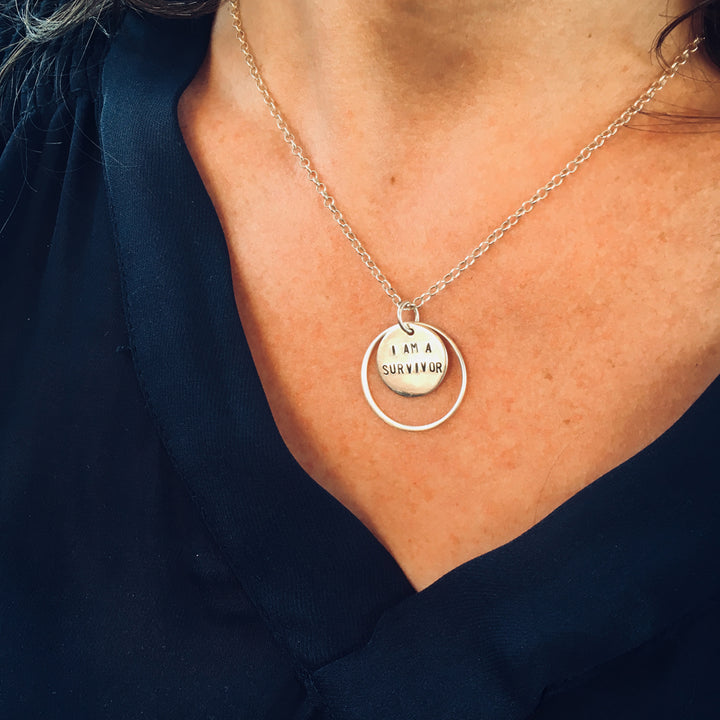 II am a Dreamer - Sterling Silver Necklace.