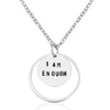 I am Enough - Affirmation Sterling Silver Necklace
