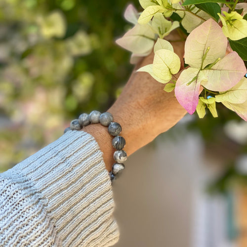Jasper Mala Bracelet against Negativity