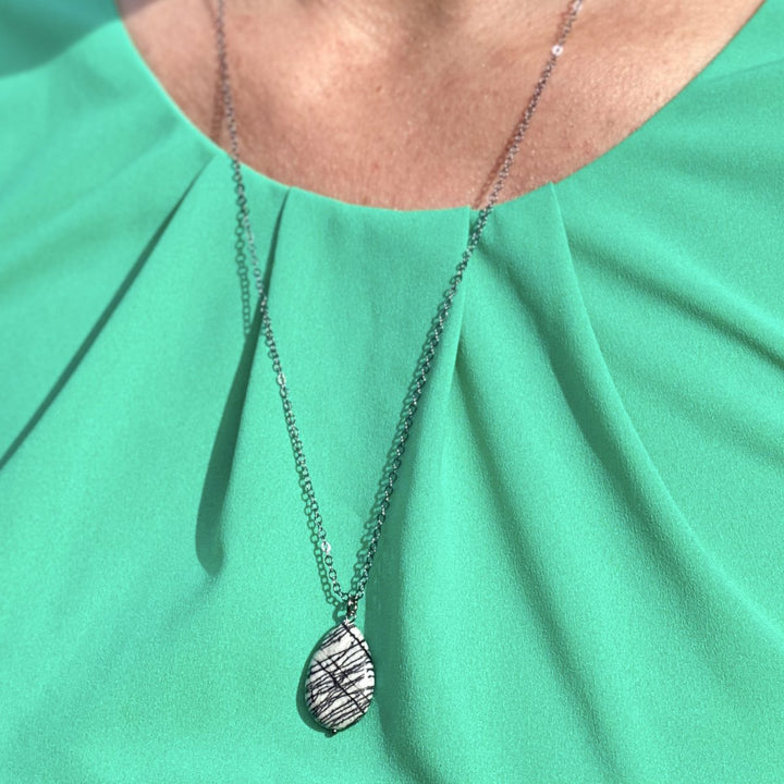 Jasper Necklace against Negativity