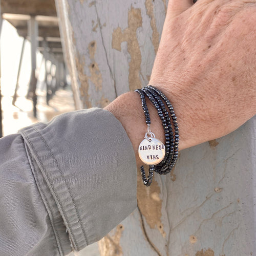 Kindness Wins Wrap Bracelet