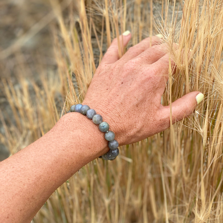Labradorite Bracelet for Strengthening Intuition and Bringing a Positive Change in Your Life
