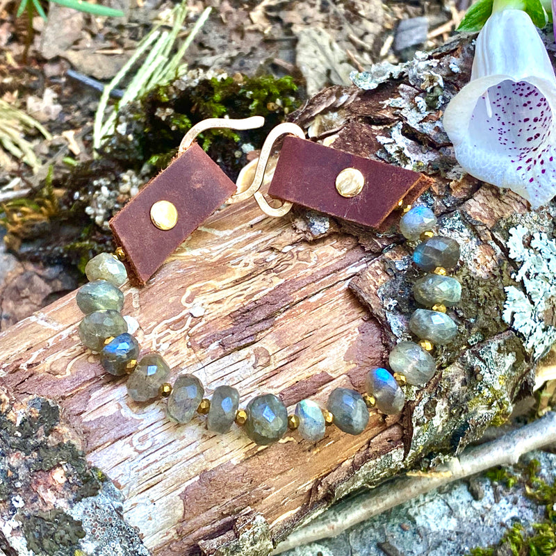 Serenity Bracelet: Labradorite for a Positive Change in Your Life from Gogh Jewelry Design