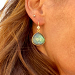 Depression Awareness Earrings - Wear Labradorite to Bring Positivity into your Life!