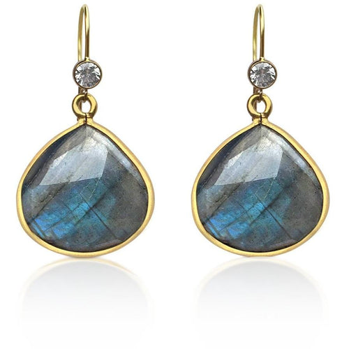 Labradorite Crystal Earring for a Positive Change in Your Life