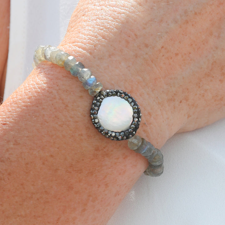 Labradorite Crystal Bracelet for a Positive Change in Your Life