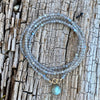 Labradorite Wrap Bracelet for a Positive Change in Your Life. It has within it a deeply felt resonance that is very powerful, and it can be used to bring amazing changes to your life.