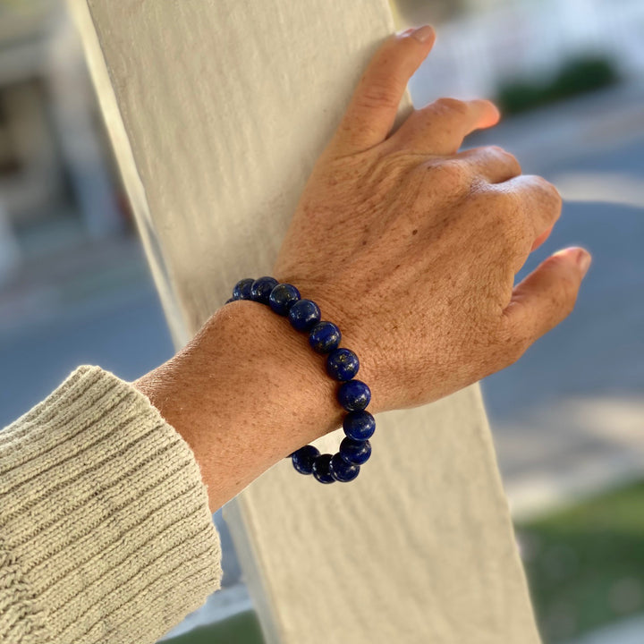 Lapis Lazuli Bracelet for Protection