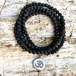 Lava Wrap Bracelet with Ohm to Help Dissipating Anger from Gogh Jewelry Design