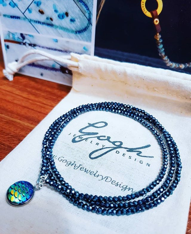 Be a Mermaid and Make Waves - Ocean Lovers Wrap Bracelet