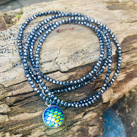 Be a Mermaid and Make Waves - Ocean Lovers Wrap Bracelet with