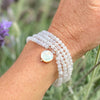 Moonstone Wrap Bracelet for New Beginnings