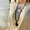 Jasper and Onyx Necklace against Negativity