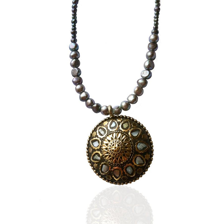 Sunshine Feminine Energy Brazilian Pearl Necklace