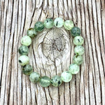 Green Prehnite Bracelet to see the good in all things