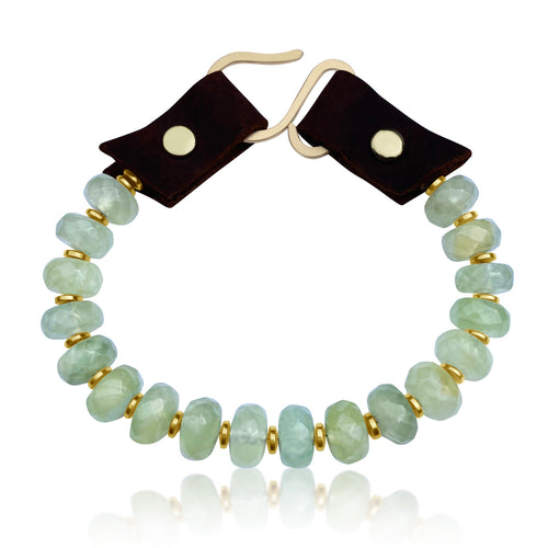 Serenity Bracelet: Prehnite for Unconditional Love