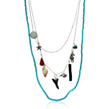 BREATHE Turquoise Necklace for Exhaustion