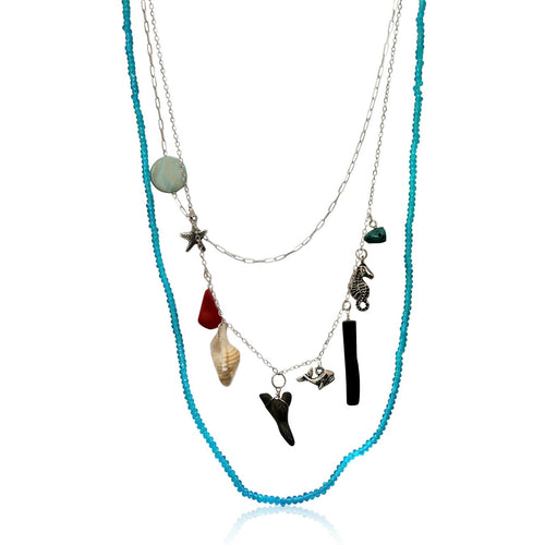 SeaSide Ocean Beach Necklace