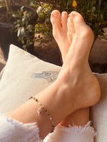 Mother Earth Anklet with Sea Shell Beach Charm