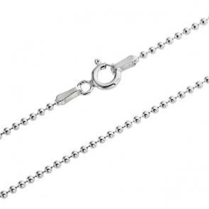 When you just need a plain sterling silver bead chain for your own charms.