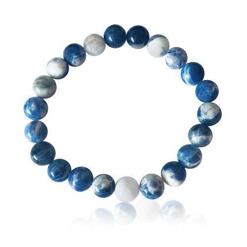 Sodalite Bracelet for Rational Thoughts