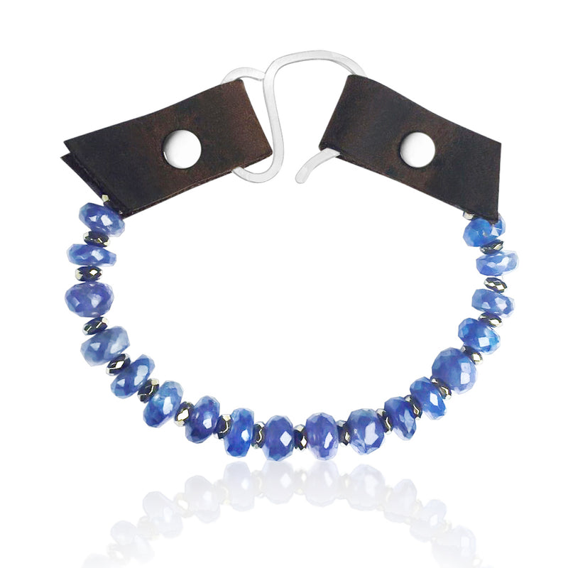 Serenity Bracelet: Tanzanite to Celebrate Individuality