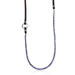 SerenityNecklace:  Tanzanite to Celebrate Individuality with Inhale - Exhale Reminders
